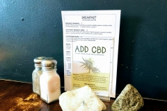 A pinch of salt, a dash of CBD oil...?