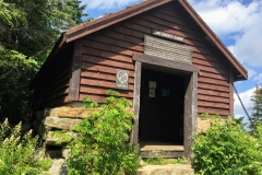 New England hikers' cabin