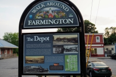 Farmington Walking Tour- The Depot