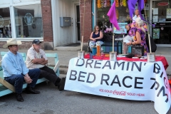 Bed race sponsors and ... resters