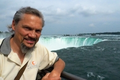 Glenn at Horseshoe Falls